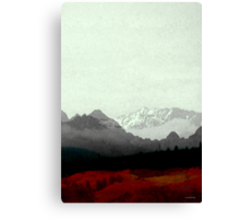 Alps Exp Canvas Print