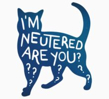 I'm Neutered, are you? - Cat by Shawna Armstrong