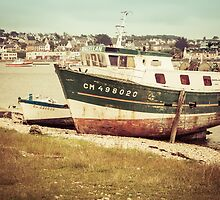 Vintage Fishing Boat IV by Joshua McDonough Photography