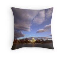 Approching Front Throw Pillow