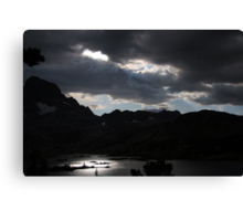Peace and Serenity in the Sierras Canvas Print
