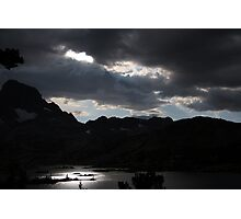 Peace and Serenity in the Sierras Photographic Print