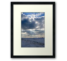 Winter Rays of Sun Framed Print