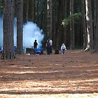 BBQ in the Pines by Phil Woodman