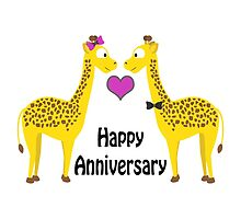 Happy Anniversary Giraffes by Eggtooth