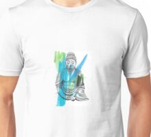 Deity - Ink and Watercolor Unisex T-Shirt