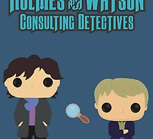 Holmes and Watson by AnArielView