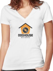 Doghouse Records Women's Fitted V-Neck T-Shirt