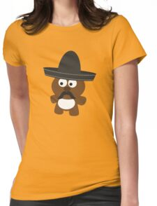 Osito Bandito Womens Fitted T-Shirt
