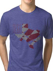Deep In The Heart Tri-blend T-Shirt