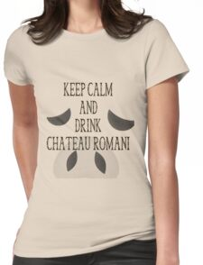 Drink Chateau Romani Womens Fitted T-Shirt