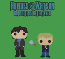 Holmes and Watson One Piece - Short Sleeve