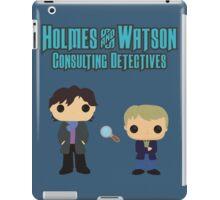 Holmes and Watson iPad Case/Skin