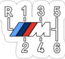 ///M Shift Sticker