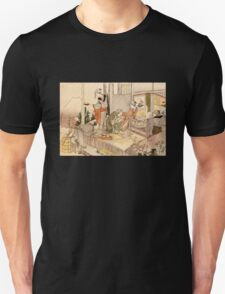 'Close to Mt. Fuji' by Katsushika Hokusai (Reproduction) Unisex T-Shirt