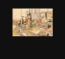 'Close to Mt. Fuji' by Katsushika Hokusai (Reproduction) Unisex T-Shirt