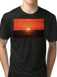 Suspenseful Sunrise Tri-blend T-Shirt