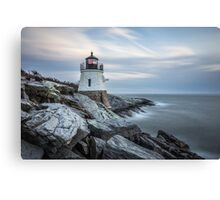 Castle Hill Lighthouse at Sunset Canvas Print
