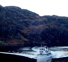 A boat in Loch Katrine by SHappe