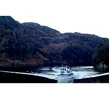 A boat in Loch Katrine Photographic Print