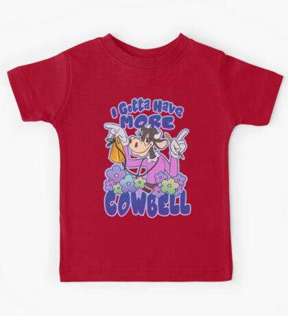 More Cowbell Kids Tee