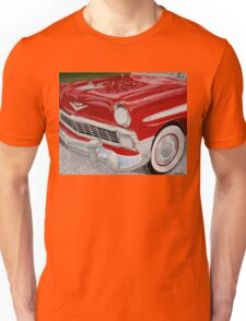 Chrome King, 1956 Chevy Bel Air Unisex T-Shirt