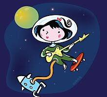 First Girl in Space! by johnandwendy