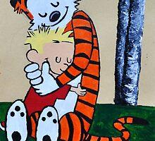 Calvin & Hobbs Original Print by gaumerdesign