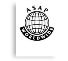 ASAP Mob  Worldwide Canvas Print