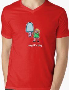 my its big Mens V-Neck T-Shirt