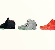 Nike Yeezy 2 Poster by Fidell