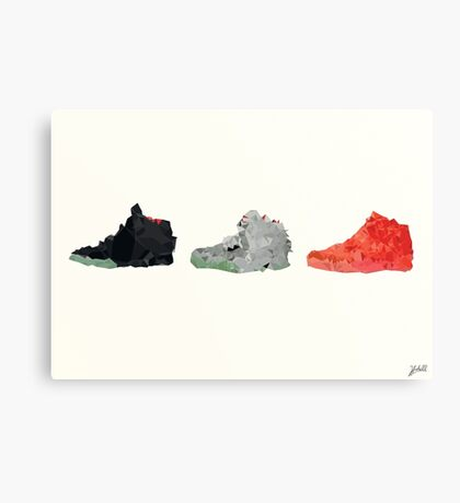 Nike Yeezy 2 Poster Canvas Print