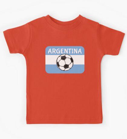 Football Argentina  Kids Tee
