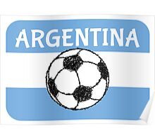 Football Argentina  Poster