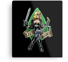 Lady Justice Metal Print