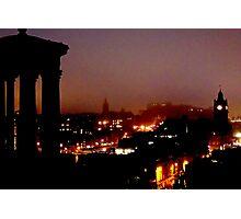 Edinburgh at Dawn Photographic Print