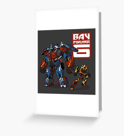 Bay Former Six Greeting Card