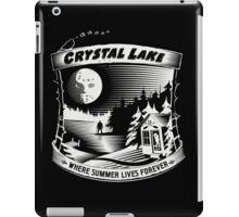 Camp Crystal Lake: Where Summer Lives Forever iPad Case/Skin