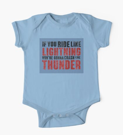 The place beyond the pines If you ride like lightning - blue One Piece - Short Sleeve