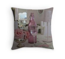 Pink and Pretty. Throw Pillow