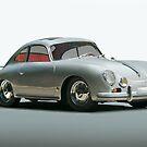 1956 Porsche 356 by DaveKoontz