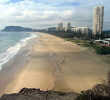 North Burleigh Heads by Cheryl Parkes