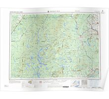 Maine USGS Historical Map Presque Isle 460780 1960 250000 Poster