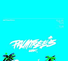 Vapourwave Palm Trees by PREMO-TEES