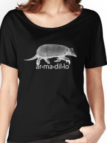 White Armadillo Women's Relaxed Fit T-Shirt