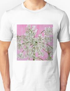 White Wild Cow Parsnip Flower T-Shirt