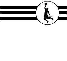 Basketball Dunk Stripes by kwg2200