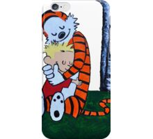 Calvin & Hobbes Transparent Print iPhone Case/Skin