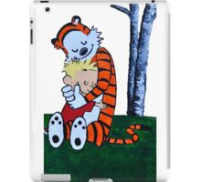 Calvin & Hobbes Transparent Print iPad Case/Skin