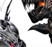 cyber dragon vs grimlock Sticker